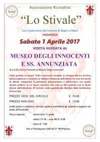 Visita guidata al Museo degli Innocenti e SS. Annunziata sabato 1° aprile