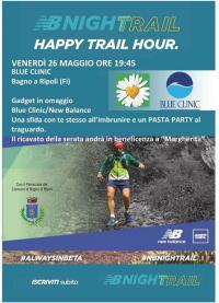 """Venerdì 26 maggio, """"Happy trail Hour"""", corsa al tramonto per beneficenza all'Associazione """"Un petalo per Margherita onlus"""""""