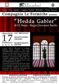 Hedda Gabler di Henrik Ibsen