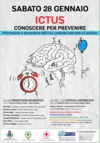 Sabato 28 gennaio a Bagno a Ripoli, giornata dedicata alla prevenzione dell'ictus cerebrale