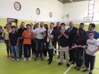 Inaugurata la palestra Granacci