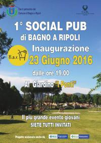 23 giugno: si inaugura 'B.a.R. H', il primo social pub di Bagno a Ripoli