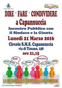 Incontro Capannuccia