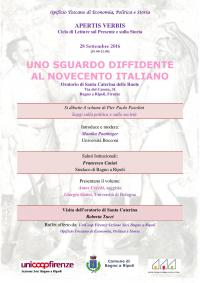 Apertis Verbis: Uno sguardo diffidente al Novecento italiano