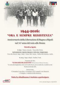 Anniversario della Liberazione di Bagno a Ripoli – 4 agosto