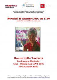 Donne della Tartaria in Biblioteca mercoledì 28 settembre