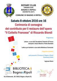 Il Coltello Francese, di Riccardo Biondi