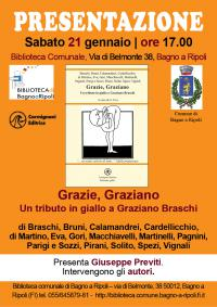 Grazie, Graziano. Un tributo in giallo a Graziano Braschi