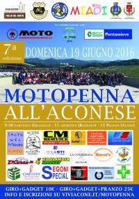 Motopenna all'Aconese – La partenza da Grassina domenica 19 giugno