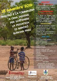 La Tommasina e Madirò per il reparto di Pediatria di Nanoro