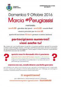 Marcia #Perugiassisi – 9 ottobre 2016