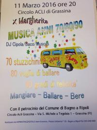 Musica anni 70/80/90 per Margherita