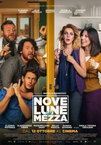 Nove lune e mezza, con Claudia Gerini al Cinema Antella dal 27 al 29 ottobre