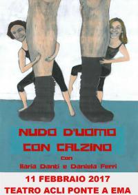 Nudo d'uomo con calzino l'11 febbraio