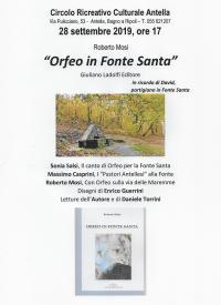 Orfeo in Fonte santa