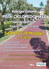 Inaugurazione della pista pedociclabile Bagno a Ripoli-Sorgane