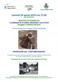 A tutto volume: il 29 aprile inaugurazione della mostra fotografica 'La bellezza di un attimo attraverso i sui Occhi, omaggio a Stefano Porcinai'