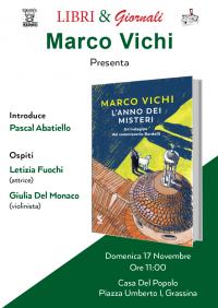 Presentazione libro Marco Vichi