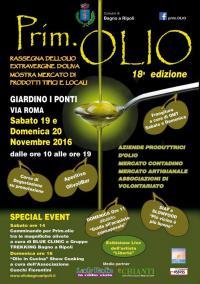 Prim.Olio, 18a edizione, sabato 19 e domenica 20 novembre
