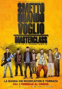 Smetto quando voglio – Masterclass al Nuovo Cinema Antella dal 24 al 26 febbraio 2017