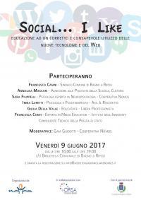 Social... I Like – Convegno in biblioteca venerdì 9 giugno
