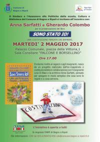 Gherardo Colombo e Anna Sarfatti a Bagno a Ripoli, martedì 2 maggio nella Sala Consiliare Falcone e Borsellino
