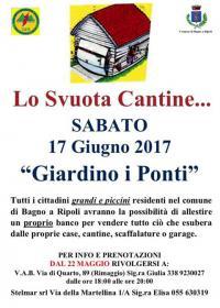 Dal 22 maggio aperte le prenotazioni allo Svuota Cantine...del 17 giugno