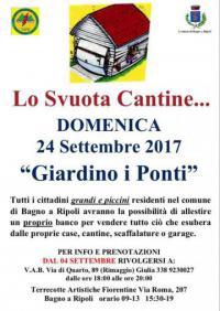 Lo Svuota Cantine... il 24 settembre a Bagno a Ripoli
