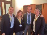 I tre sindaci di Bagno a Ripoli, Fiesole e Pontassieve con il viceministro