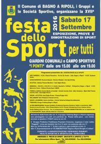 XVII Festa dello Sport per Tutti