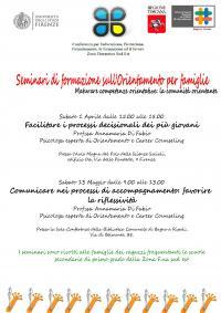 Seminari di formazione sull'orientamento per famiglie